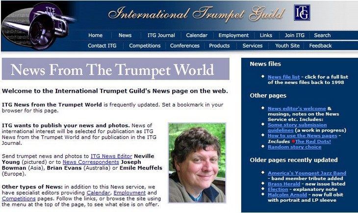 Eolos in the International Trumpet Guild